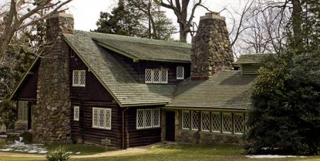 Cedar Shingles used in famous Stickley Style